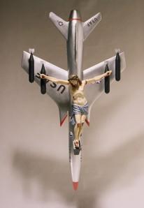 """León Ferrari,  """"La civilización occidental y cristiana""""  (Western-Christian Civilization), 1965"""