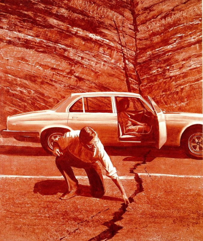 Mark Tansey, Doubting Thomas, 1985