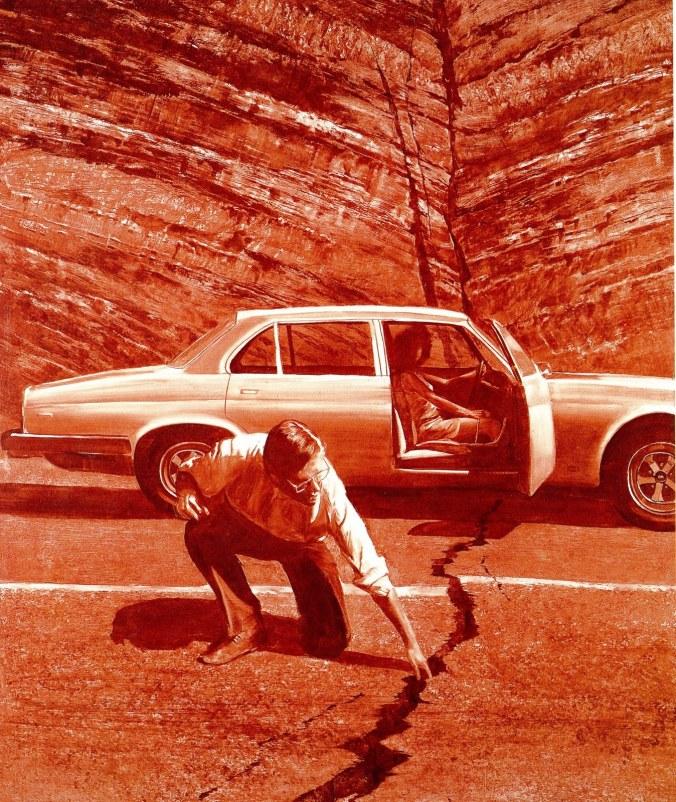 Mark Tansey, Doubting Thomas, 1985